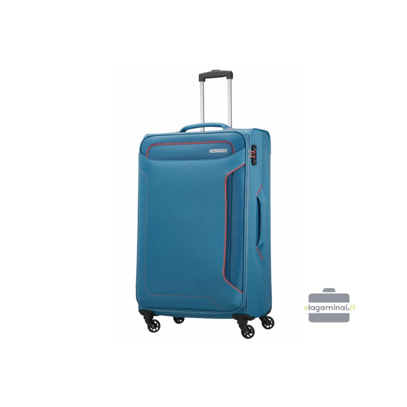 Didelis lagaminas American Tourister Holiday Heat D Mėlynas