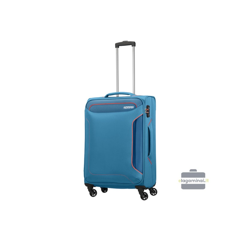 Vidutinis lagaminas American Tourister Holiday Heat V Mėlynas