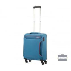 Mažas lagaminas American Tourister Holiday Heat M Mėlynas