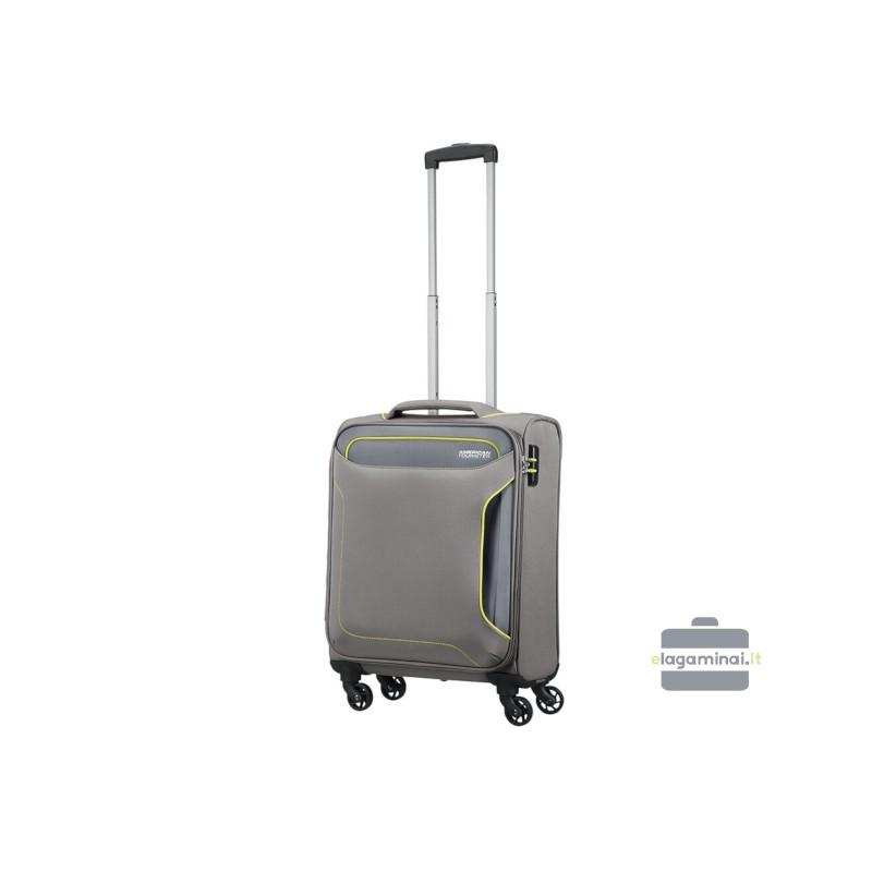 Mažas lagaminas American Tourister Holiday Heat M Pilkas
