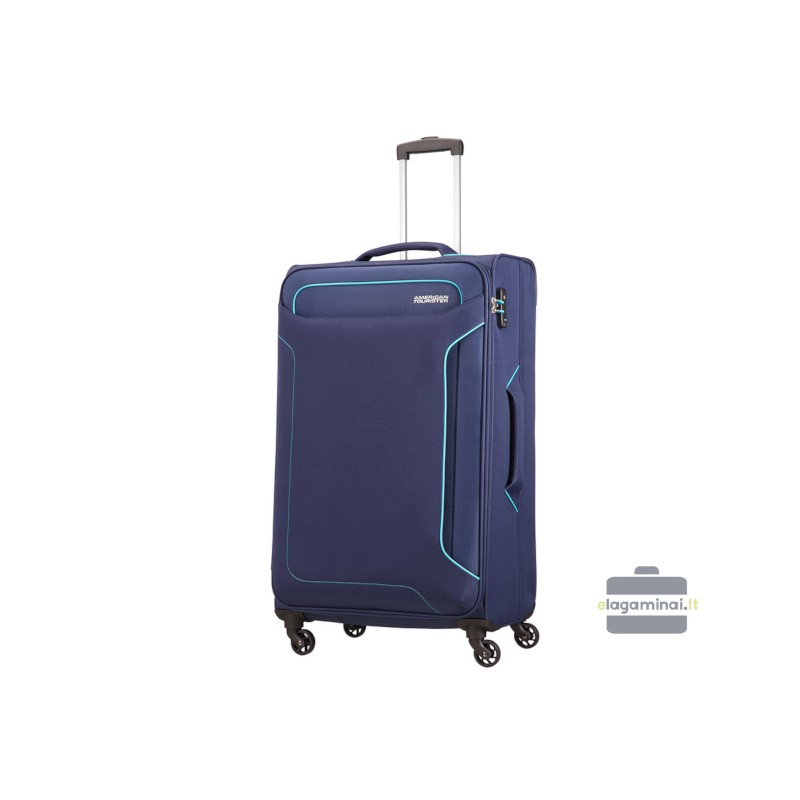 Didelis lagaminas American Tourister Holiday Heat D Tamsiai mėlynas
