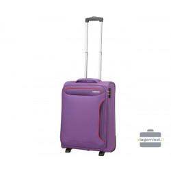 Mažas lagaminas American Tourister Holiday Heat M Violetinis