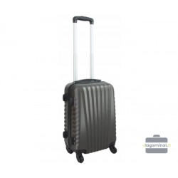 Mažas plastikinis lagaminas Gravitt 888-M Mėlynas