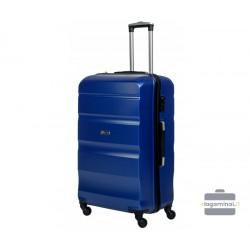 Didelis plastikinis lagaminas Gravitt Travel 710-D Tamsiai mėlynas