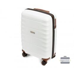 Mažas plastikinis lagaminas Wittchen 56-3T-761 Baltas