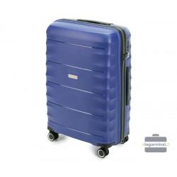Vidutinis plastikinis lagaminas Wittchen 56-3T-762 Mėlynas