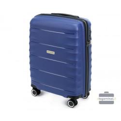 Mažas plastikinis lagaminas Wittchen 56-3T-761 Mėlynas