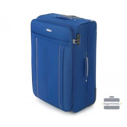 Didelis medžiaginis lagaminas Vip Travel V25-3S-273 Tamsiai mėlynas