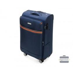 Vidutinis medžiaginis lagaminas Wittchen 56-3S-492 Tamsiai mėlynas