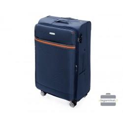 Didelis medžiaginis lagaminas Wittchen 56-3S-493 Tamsiai mėlynas