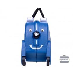 Vaikiškas plastikinis lagaminas V-Club Mėlynas
