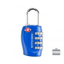 Kodinė TSA spynelė lagaminui Wittchen 56-30-023 Mėlyna