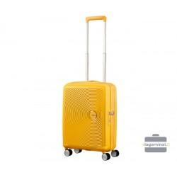 Mažas lagaminas American Tourister Soundbox M Geltonas