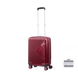 Mažas lagaminas American Tourister Modern Dream M Tamsiai raudonas