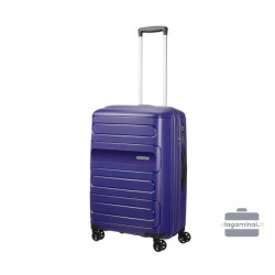 Vidutinis lagaminas American Tourister Sunside V Mėlynas