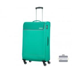 Didelis lagaminas American Tourister Funshine D Šviesiai žalias