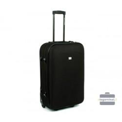 Vidutinis medžiaginis lagaminas David Jones 4010-V Juodas