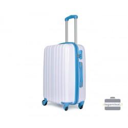 Vidutinis plastikinis lagaminas David Jones 2050-V