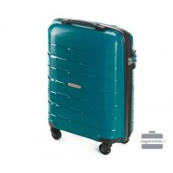 Mažas plastikinis lagaminas Wittchen 56-3T-721 Žalias