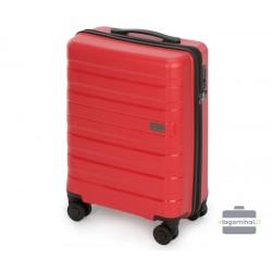 Mažas plastikinis lagaminas Wittchen 56-3T-751-M Raudonas