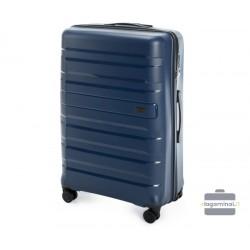 Didelis plastikinis lagaminas Wittchen 56-3T-753-D Mėlynas