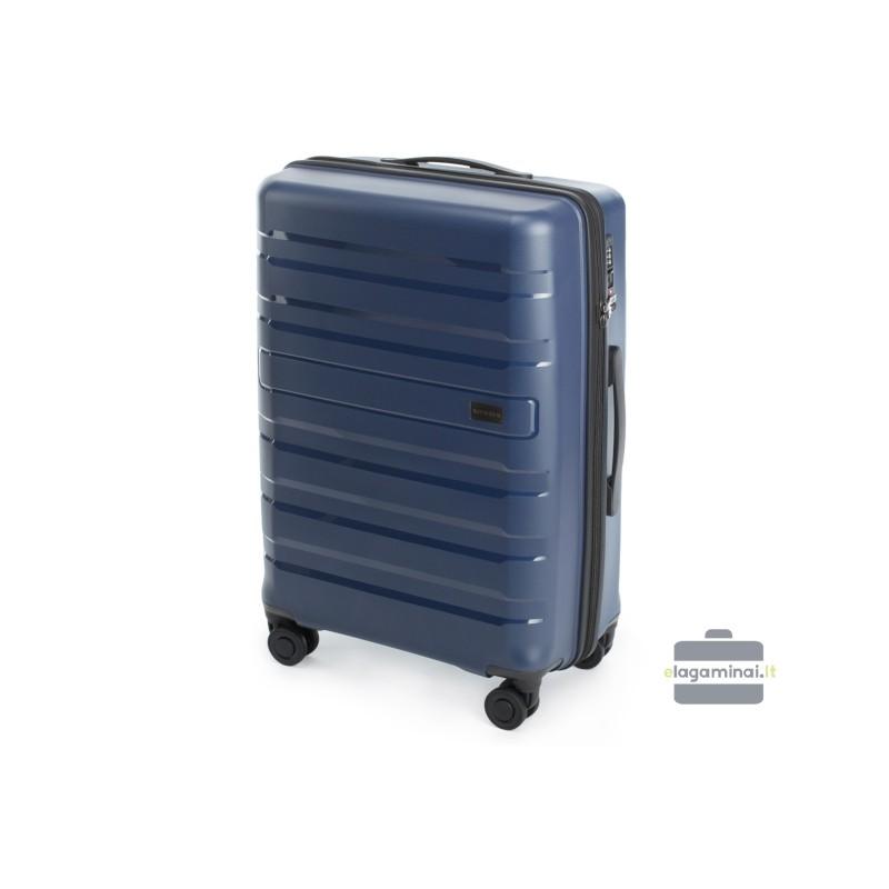 Vidutinis plastikinis lagaminas Wittchen 56-3T-752-V Mėlynas