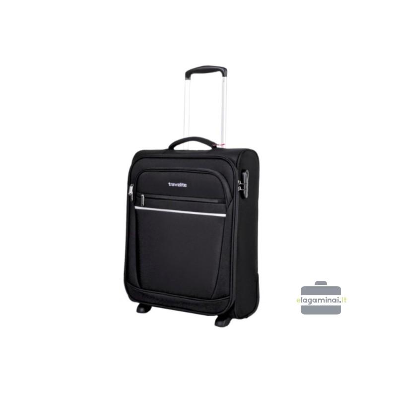 Mažas lagaminas Travelite Cabin Juodas