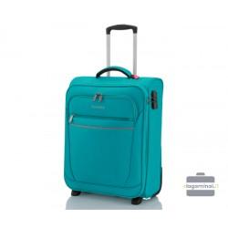 Mažas lagaminas Travelite Cabin Turkio spalva