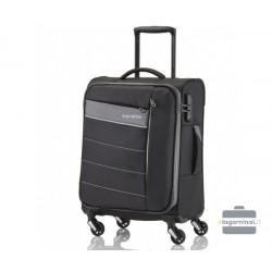 Mažas medžiaginis lagaminas Travelite Kite M Juodas