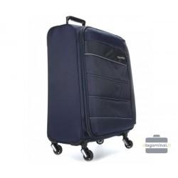 Didelis medžiaginis lagaminas Travelite Kite D Tamsiai mėlynas