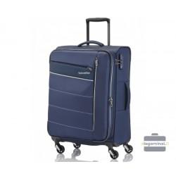 Vidutinis medžiaginis lagaminas Travelite Kite V Tamsiai mėlynas