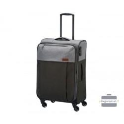 Mažas medžiaginis lagaminas Travelite Neopak M Juodas