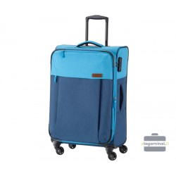 Vidutinis medžiaginis lagaminas Travelite Neopak V Mėlynas