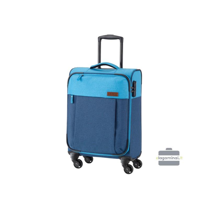 Mažas medžiaginis lagaminas Travelite Neopak M Mėlynas