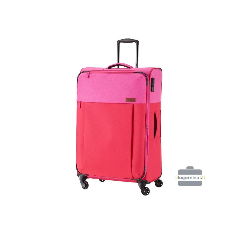 Didelis medžiaginis lagaminas Travelite Neopak D Raudonas