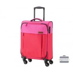 Mažas medžiaginis lagaminas Travelite Neopak M Raudonas