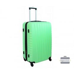 Didelis plastikinis lagaminas Gravitt 888-D Šviesiai žalias