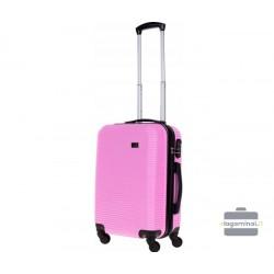 Mažas plastikinis lagaminas Bagia 8080-M Violetinis