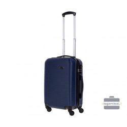 Mažas plastikinis lagaminas Bagia 8080-M Tamsiai mėlynas
