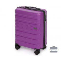 Mažas plastikinis lagaminas Wittchen 56-3T-751-M Violetinis