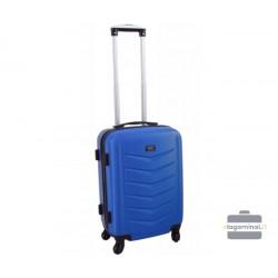 Mažas plastikinis lagaminas Szyk 602-M Mėlynas