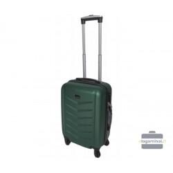 Mažas plastikinis lagaminas Szyk 602-M Tamsiai žalias