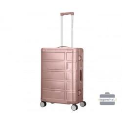 Vidutinis lagaminas American Tourister Alumo V Rožinis