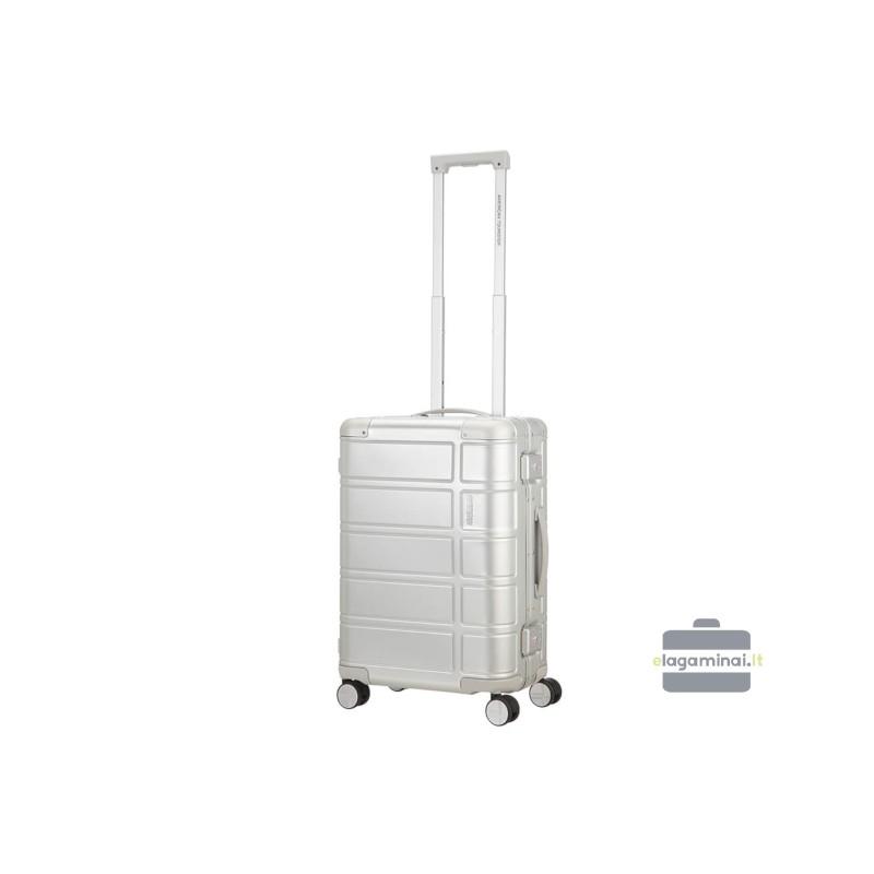 Mažas lagaminas American Tourister Alumo M Sidabro spalva