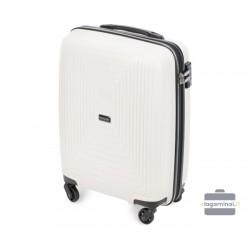 Mažas plastikinis lagaminas Wittchen 56-3T-781-M Baltas