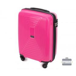 Mažas plastikinis lagaminas Wittchen 56-3T-781-M Rožinis