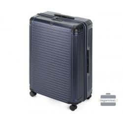 Didelis plastikinis lagaminas Wittchen 56-3P-853 Tamsiai mėlynas