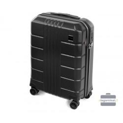 Mažas plastikinis lagaminas Wittchen 56-3P-821 Juodas