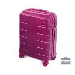 Mažas plastikinis lagaminas Wittchen 56-3P-821 Tamsiai rožinis
