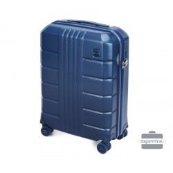 Mažas plastikinis lagaminas Wittchen 56-3P-821 Tamsiai mėlynas